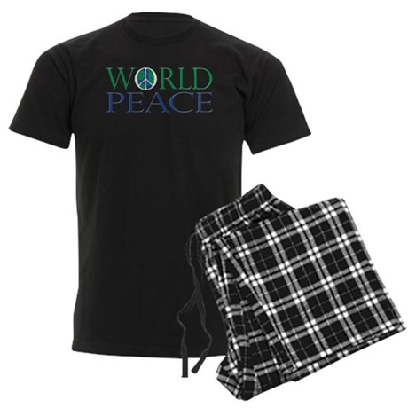 World Peace Men's Dark Pajamas