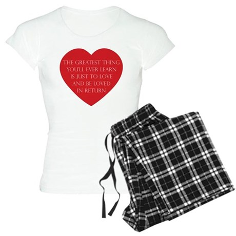 Love and be Loved Women's Light Pajamas