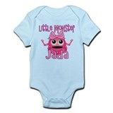 Little Monster Jada Onesie