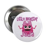"Little Monster Jada 2.25"" Button"