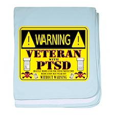 PTSD Medicated Veteran baby blanket