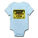 PTSD Medicated Veteran Infant Bodysuit