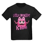 Little Monster Katie Kids Dark T-Shirt