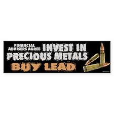 Buy Lead Bumper Sticker