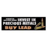 Buy Lead Bumper Sticker