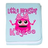 Little Monster Kaylee baby blanket