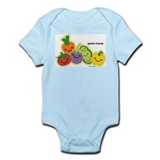 Garden Veggie Friends Infant Bodysuit