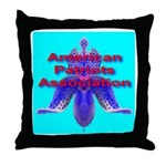 American Patriots Association Throw Pillow