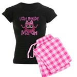Little Monster Mariah Women's Dark Pajamas