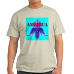 America Ash Grey T-Shirt