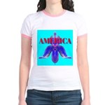 America Jr. Ringer T-Shirt