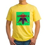 America Yellow T-Shirt