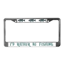Vintage Engraving - Fish License Plate Frame