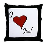 Joel Throw Pillow