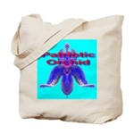 Patriotic Orchid Tote Bag