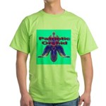 Patriotic Orchid Green T-Shirt