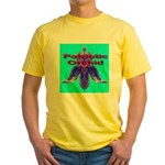 Patriotic Orchid Yellow T-Shirt