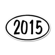 2015 Oval 38.5 x 24.5 Oval Wall Peel