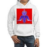 Americaorchidae patriotus Hooded Sweatshirt