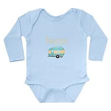 Personalities - Happy Camper Long Sleeve Infant Bo