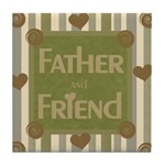 Father and Friend Keepsake Tile