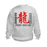 Year of The Dragon Characteristics Sweatshirt