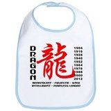 Year of The Dragon Characteristics Bib