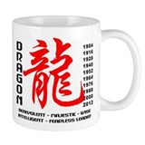 Year of The Dragon Characteristics Small Mugs