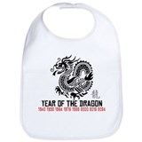 Chinese New Year of The Dragon Bib
