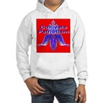 Cultivate Patriotism Blood Re Hooded Sweatshirt