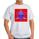 Cultivate Patriotism Blood Re Ash Grey T-Shirt