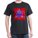 Cultivate Patriotism Blood Re Black T-Shirt