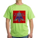 Cultivate Patriotism Blood Re Green T-Shirt
