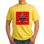 Cultivate Patriotism Blood Re Yellow T-Shirt