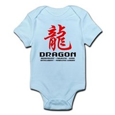 Chinese Astrology Dragon Infant Bodysuit