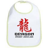 Chinese Astrology Dragon Bib