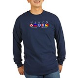 Vento Long Sleeve Navy T