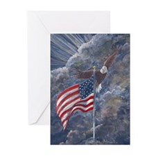 Patriotic by Delia Greeting Cards(Packg of 6)
