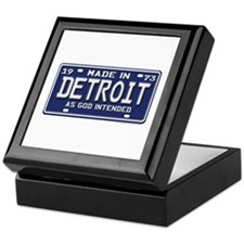 Made in Detroit Keepsake Box