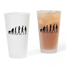 Evolution of Guitarist Drinking Glass