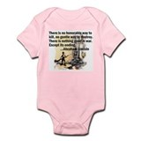 Peace Quote Infant Creeper