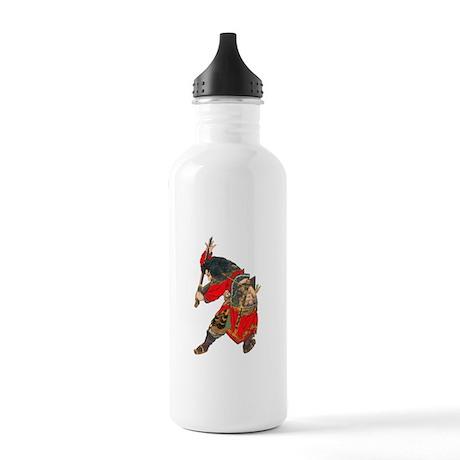 Japanese Samurai Warrior Stainless Water Bottle 1.