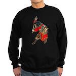 Japanese Samurai Warrior Sweatshirt (dark)