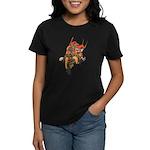 Japanese Samurai Warrior Women's Dark T-Shirt