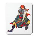 Japanese Samurai Warrior Mousepad