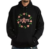Uterine Cancer Hope Hearts Hoody