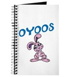 OYOOS Kids Bunny design Journal