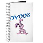 OYOOS Kids Bunny design Journal