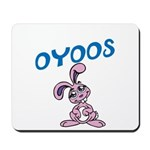 OYOOS Kids Bunny design Mousepad