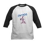 OYOOS Kids Bunny design Kids Baseball Jersey